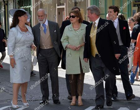 Editorial picture of Wedding of Lady Natasha Rufus-isaacs to Rupert Finch - 08 Jun 2013