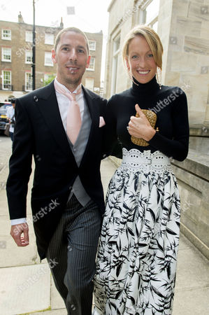 Wedding at St Paul's Church Knightsbridge Christian Candy with His Wife Emily Crompton