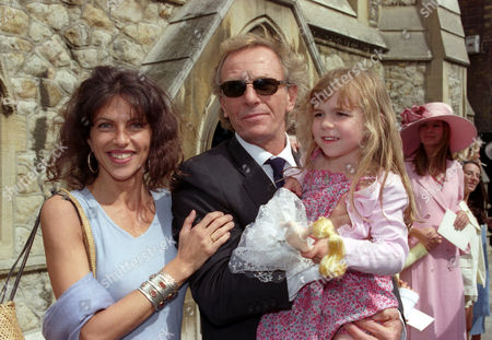 Wedding at St Simon Zelotes Church Knightsbridge Clio Goldsmith with Her Husband Mark Shand and Their Daughter