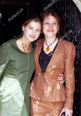 Wedding at St Simon Zelotes Church Knightsbridge Dido Goldsmith with Her Daughter
