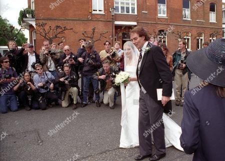 Wedding at St Simon Zelotes Church Knightsbridge Sheherazade Ventura-bentley with Her Father John Bentley