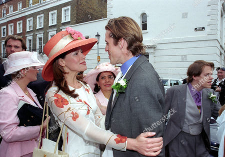 Wedding at St Simon Zelotes Church Knightsbridge Christina Estrada Greets Ben Elliot