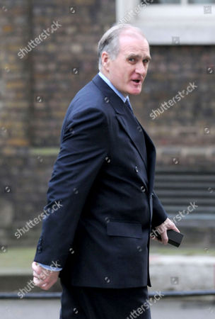 Weekly Cabinet Meeting at Number 10 Downing Street Westminster Chief of Armed Forces Sir Jock Stirrup