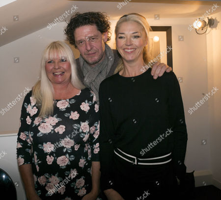 Stock Photo of White Heat 25th Anniversary at the Little Black Gallery Park Walk Fulham West London Lindsey Carlos Clarke Marco Pierre White & Tamara Beckwith