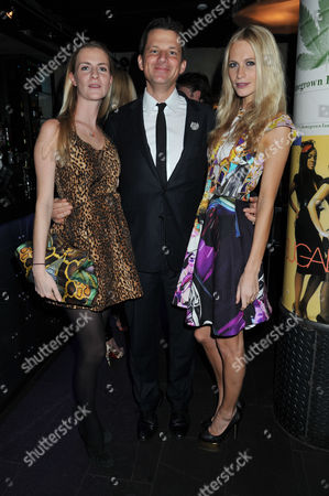 Wild For Wspa Evening at Under the Bridge Chelsea Football Fulham Chloe Buckworth with Her Sister Poppy Delevingne and George Duffield