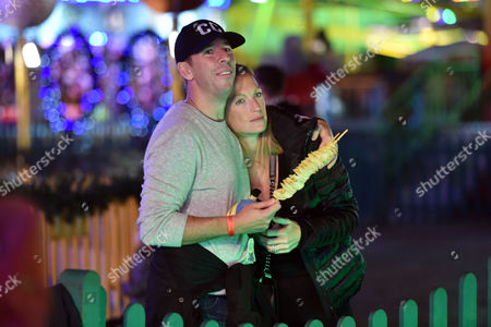 Winter Wonderland at Hyde Park Christian Candy with His Wife Emily Crompton