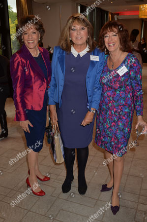 Woman of the Year Awards Lunch at the Intercontinental Hotel Hamilton Place Esther Rantzen Eve Pollard & Bel Mooney