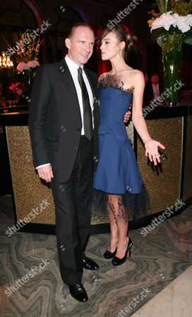 World Premiere Afterparty For 'The Duchess' at the Foreign Office Whitehall Ralph Fiennes and Keira Knightley
