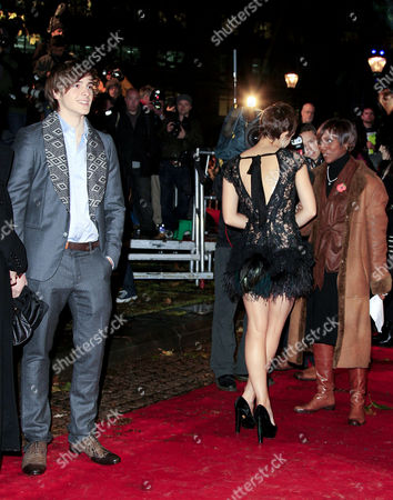 World Premiere of 'Harry Potter and the Deathly Hallows Part One' at the Odeon Leicester Square Emma Watson's Brother Alex Waits For Emma to Finish with Interviews
