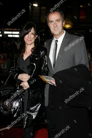 World Premiere of 'The Boat That Rocked' at the Odeon Leicester Square Angus Deayton with His Wife Lise Mayer