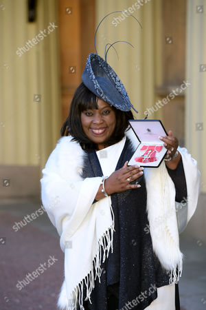 Ruby Turner receives an MBE for services to Music