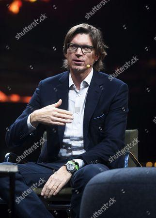 Swedish entrepreneur Niklas Zennstrom, founder of Kazaa, Skype and Atomico speaks