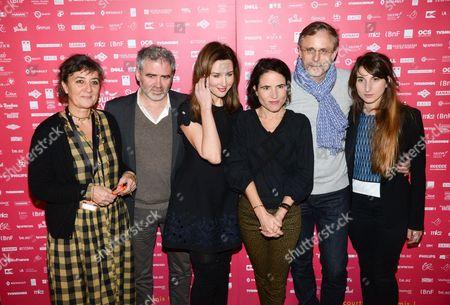 Corinne Bernard, Stephane Brize, Elsa Zylberstein, Mazarine Pingeot, Christophe Rossignon, Natalie Beder