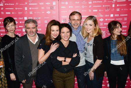 Emilie Caen, Stephane Brize, Elsa Zylberstein, Mazarine Pingeot, Christophe Rossignon, Julie Gayet, Natalie Beder