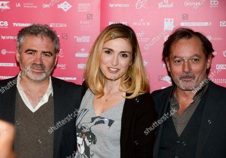 Stephane Brize, Julie Gayet, Christophe Aleveque
