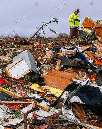 Editorial photo of Severe Weather South, Rosalie, USA - 30 Nov 2016