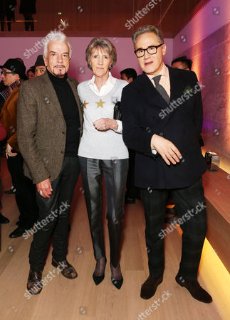 Nicky Haslam, Jane Churchill and Peter York