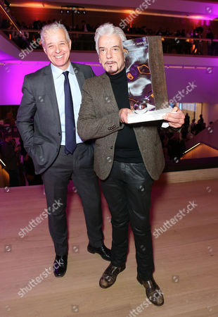 Martin Waller, founder of Andrew Martin, the awards and the Interior Design Review with Nicky Haslam winner of the Andrew Martin International Interior Designer of the Year Award 2016