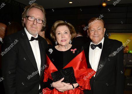 Alistair Morrison, Barbara Taylor Bradford and Robert Bradford