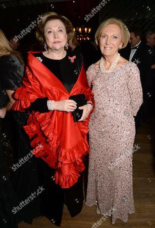 Barbara Taylor Bradford and Mary Berry