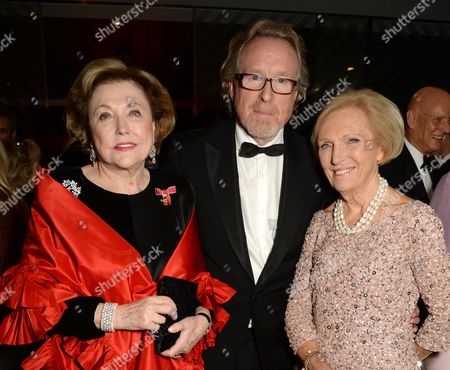 Barbara Taylor Bradford, Alistair Morrison and Mary Berry