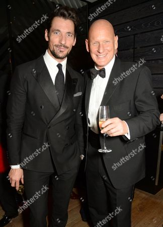 Stock Photo of David Gandy and Duncan Goodhew