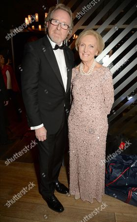 Alistair Morrison and Mary Berry