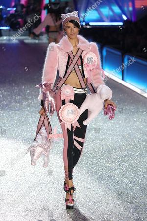 Editorial image of Victoria's Secret Fashion Show, Runway, Grand Palais, Paris, France - 30 Nov 2016