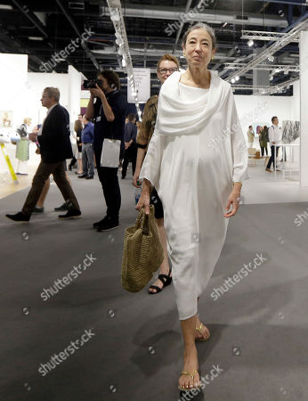 Editorial image of VIP opening of Art Basel at the Miami Beach convention Center, USA - 30 Nov 2016