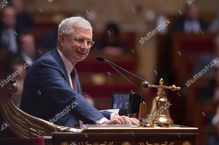 French National Assembly President Claude Bartolone