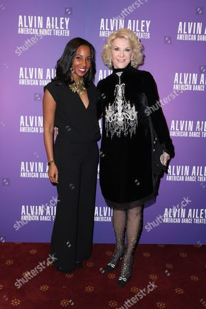Elaine Wynn and guest
