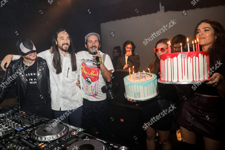 Editorial photo of Steve Aoki's Birthday Party and Dim Mak's 20th Anniversary Celebration, Los Angeles, USA - 29 Nov 2016