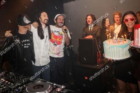 Editorial image of Steve Aoki's Birthday Party and Dim Mak's 20th Anniversary Celebration, Los Angeles, USA - 29 Nov 2016