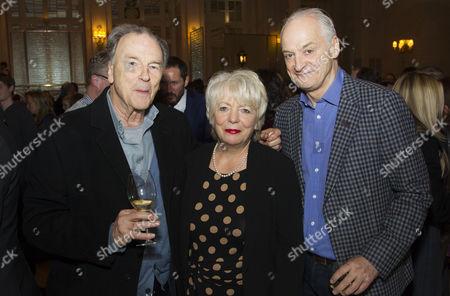Michael Elwyn, Alison Steadman and Malcolm Sinclair (Humphrey Atkins)