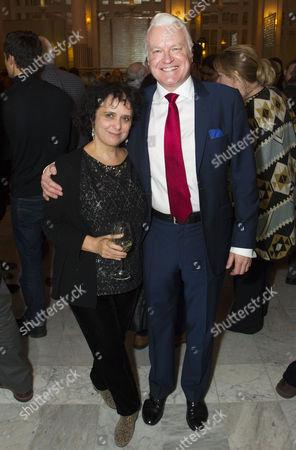 Nica Burns (Producer) and David Hounslow (Joe Harper)