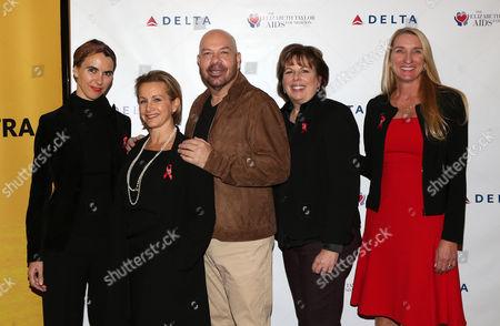 Naomi deLuce Wilding, Gabrielle Carteris, Jason Stuart, Guests