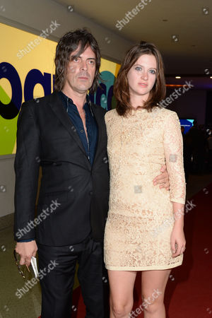 '20 000 Days On Earth' Premiere at the Barbican George Vjestica with His Wife Rosie Mortimer