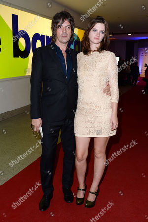 Stock Photo of '20 000 Days On Earth' Premiere at the Barbican George Vjestica with His Wife Rosie Mortimer