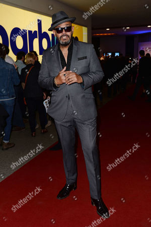 Stock Photo of '20 000 Days On Earth' Premiere at the Barbican Barry Adamson