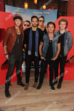 '22 Jump Street' Screening at the Firmdale Hotel Piccadilly Circus Lawson - Andy Brown Ryan Fletcher Joel Peat and Adam Pitts