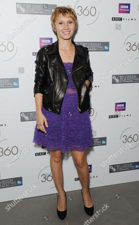 '360' Premiere Afterparty During the 55th Bfi London Film Festival at the Saatchi Gallery Kings Road Dinara Drukarova