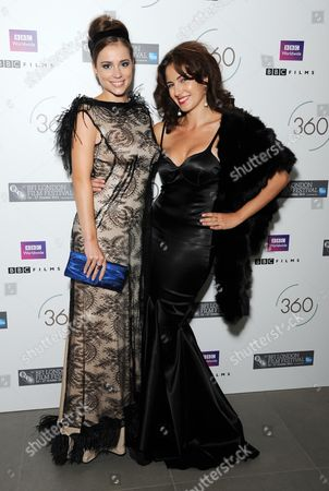 '360' Premiere Afterparty During the 55th Bfi London Film Festival at the Saatchi Gallery Kings Road Gabriela Marcinkova and Lucia Siposova