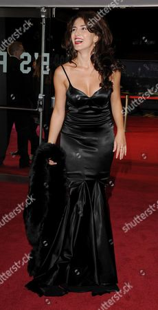 Stock Image of '360' Red Carpet During the 55th Bfi London Film Festival at the Odeon Leicester Square Lucia Siposova