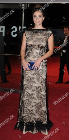 '360' Red Carpet During the 55th Bfi London Film Festival at the Odeon Leicester Square Gabriela Marcinkova