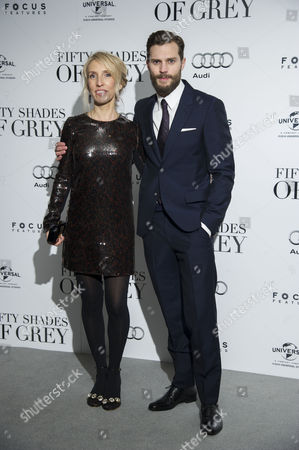 '50 Shades of Grey' Uk Premiere at the Odeon Leicester Square Director; Sam Taylor-johnson and Jamie Dornan