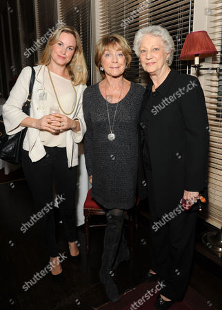 'A Dancer in Wartime' by Gillian Lynne Book Publication Party at the Royal Opera House Samantha Womack Gillian Lynne and Monica Mason Director of the Royal Ballet