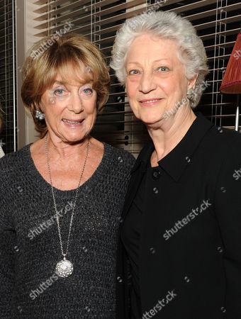 'A Dancer in Wartime' by Gillian Lynne Book Publication Party at the Royal Opera House Gillian Lynne and Monica Mason Director of the Royal Ballet