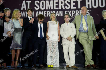 'About Time' World Premiere and Opening of the Film4 Summer Screen at Somerset House Vanessa Kirby Tom Hughes Joshua Mcguire Margot Robbie Tom Hollander Richard Cordery