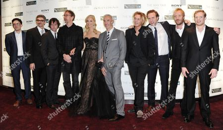 'Anonymous' Red Carpet During the 55th Bfi London Film Festival at the Empire Leicester Square Sebastian Armesto John Orloff (screenwriter) Edward Hogg David Thewlis Joely Richardson Roland Emmerich (director) Jamie Campbell-bower Rafe Spall Rhys Ifans and Sam Reid