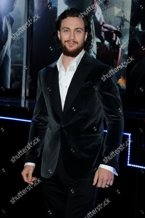 'Avengers 2- Age of Ultron' European Premiere at Westfield Shepherds Bush Aaron Johnson-wood